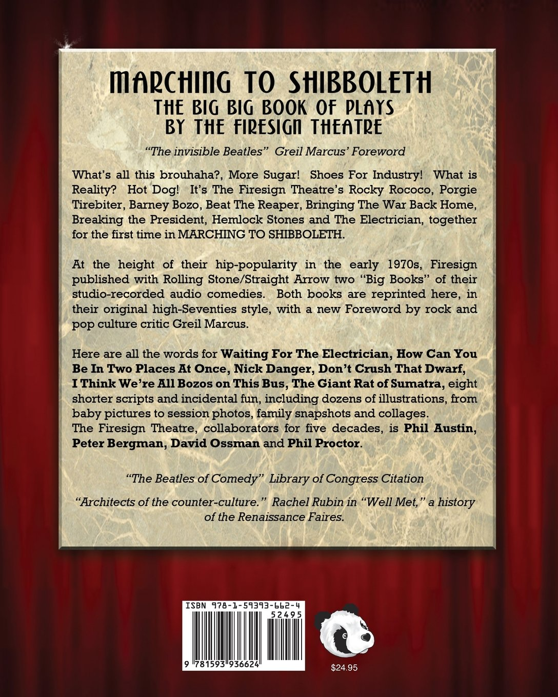 Marching to Shibboleth: The Firesign Theatre, Brian Pearce: 9781593936624:  Amazon.com: Books