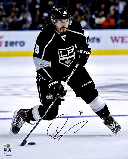 best sneakers 26232 35be3 Drew Doughty Los Angeles Kings Autographed 16