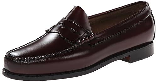 G.H. Bass & Co. Men's Larson Penny Loafer, Burgundy, ...