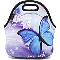 iColor Insulated Neoprene Lunch Bag Tote Handbag Lunchbox Food Container Gourmet Tote Cooler Warm Pouch for School Work Office