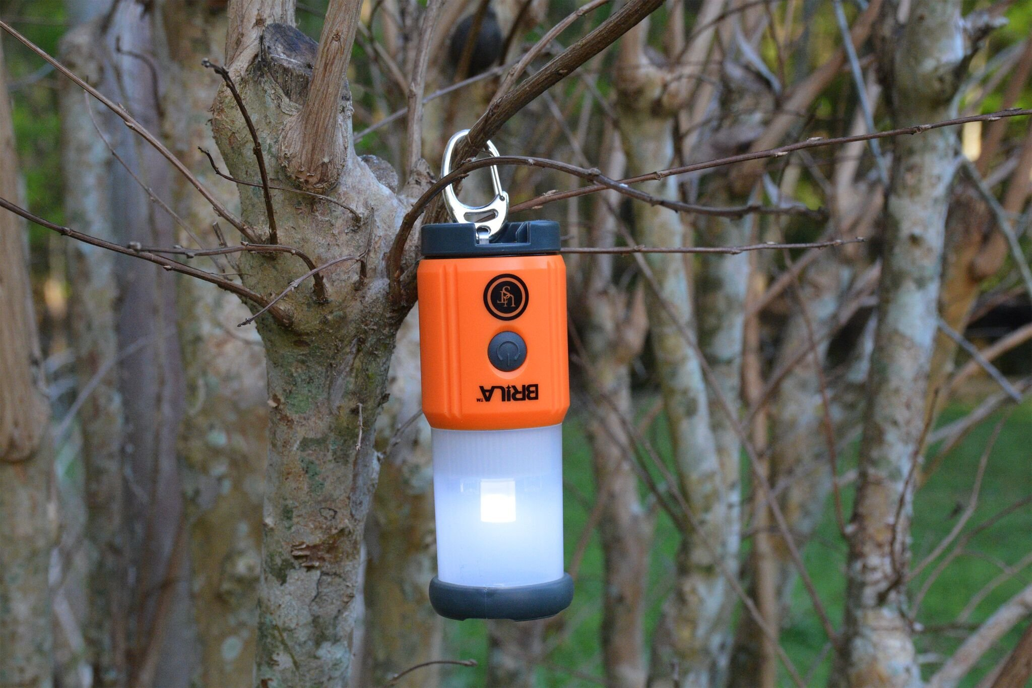 UST Brila Mini LED Lantern, 27 Lumens, Orange