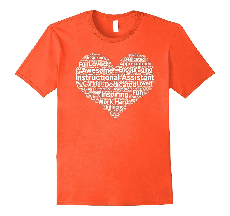 Instructional Assistant Teacher Appreciation T Shirt Anz Anztshirt