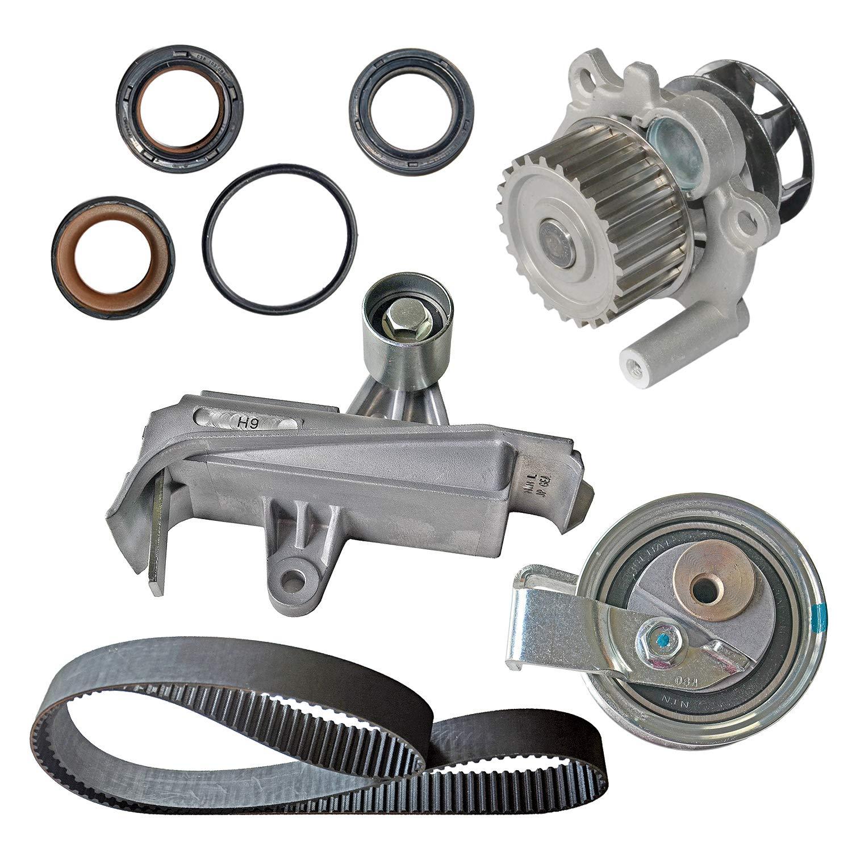 Kit de cadena de correa de sincronización y bomba de agua 06B109119A/06A121012G: Amazon.es: Coche y moto