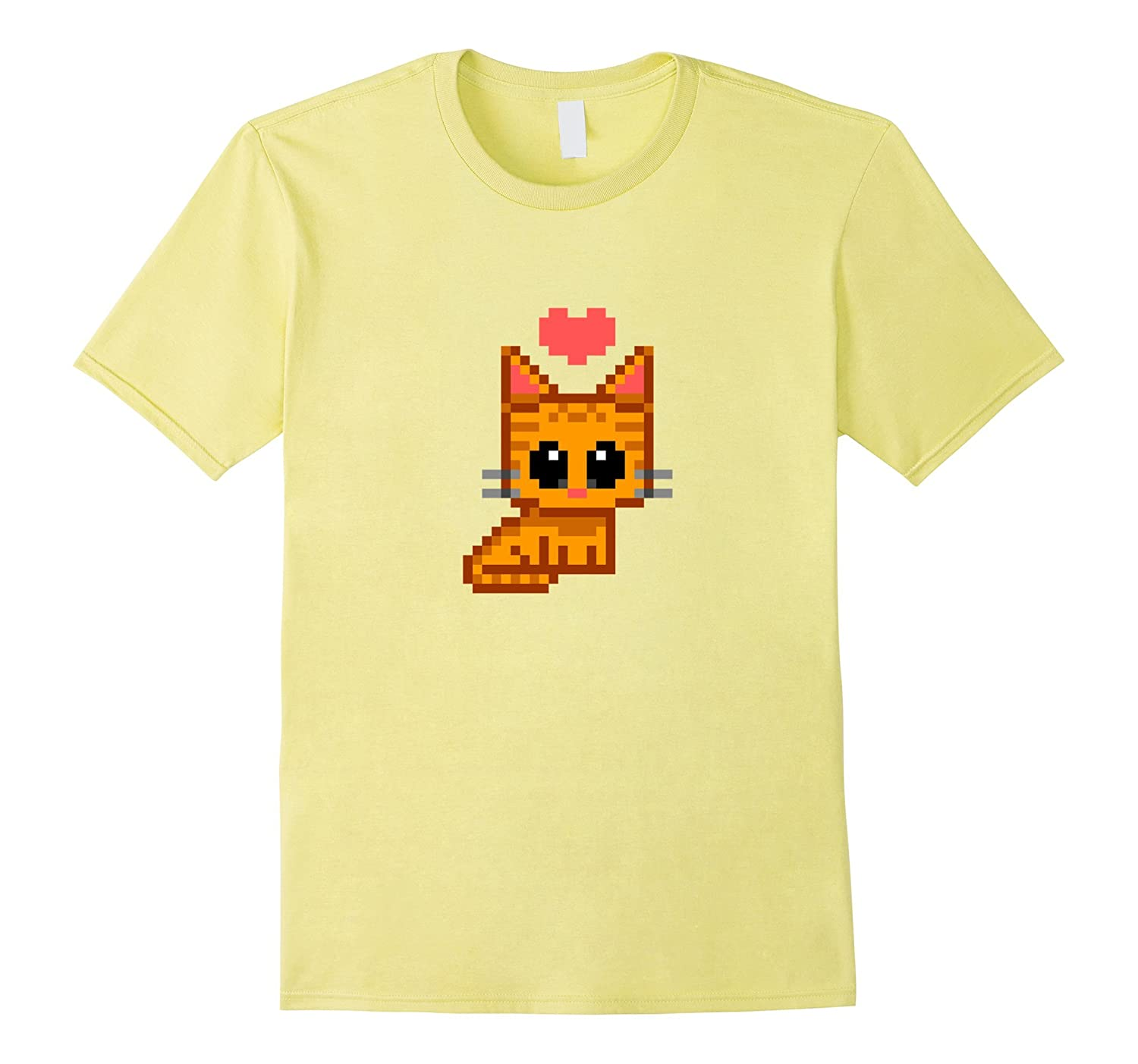 Pixel Cat Love - Orange Tabby-Vaci