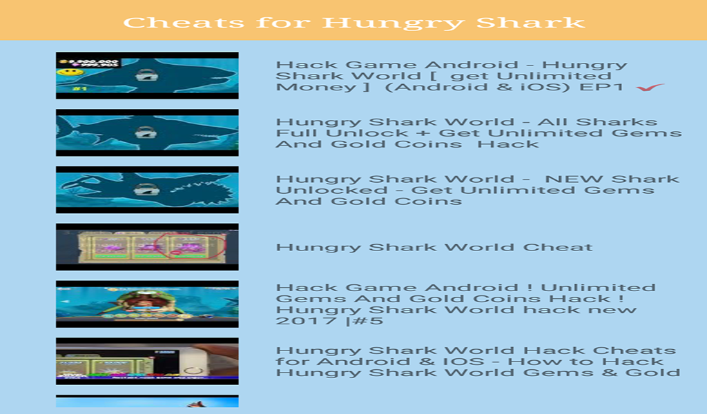 Amazon Com Guide For Hungry Shark World