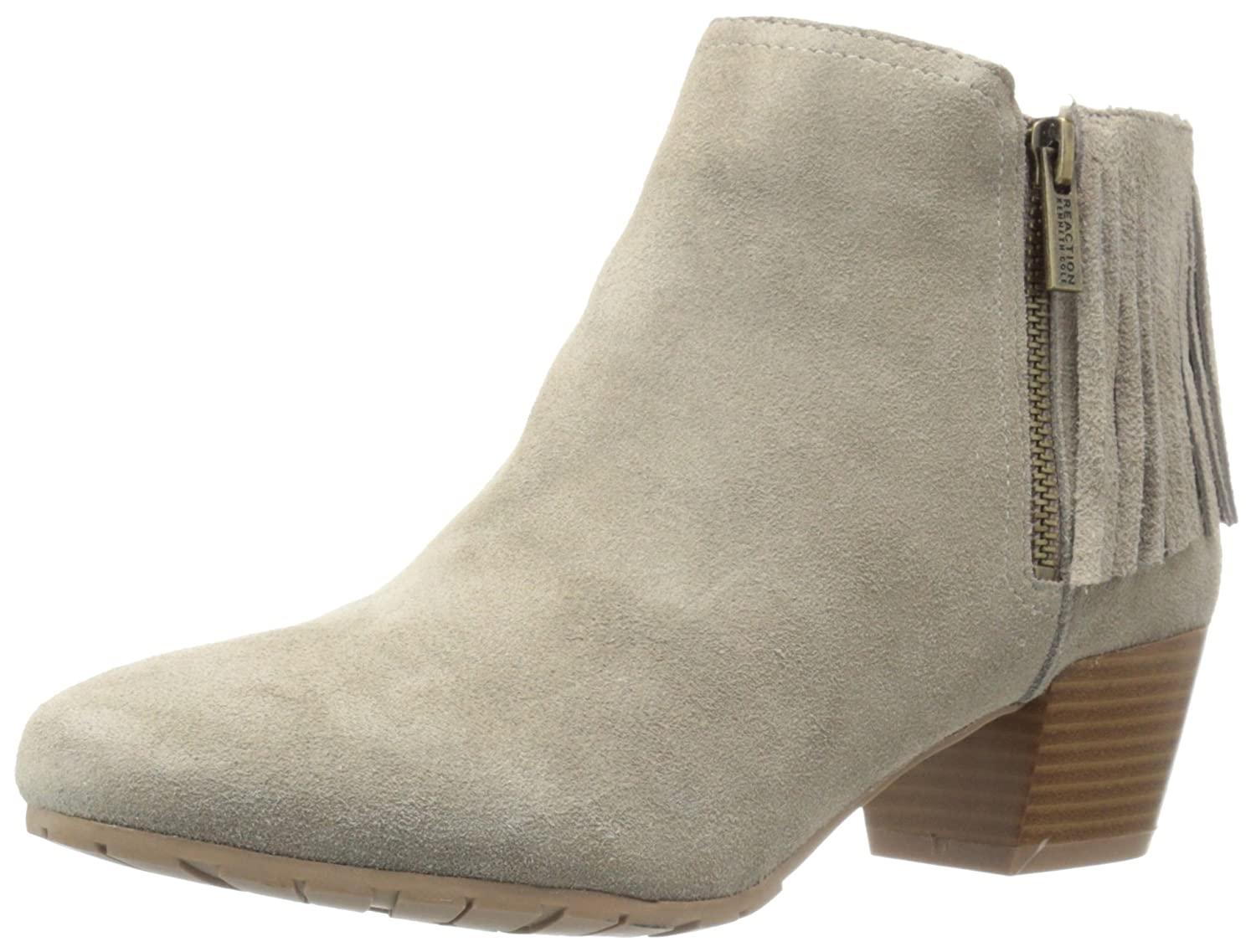 Kenneth Cole REACTION Women's PIL-Ates Ankle Boot B01G5ULJJ4 7.5 B(M) US|Taupe