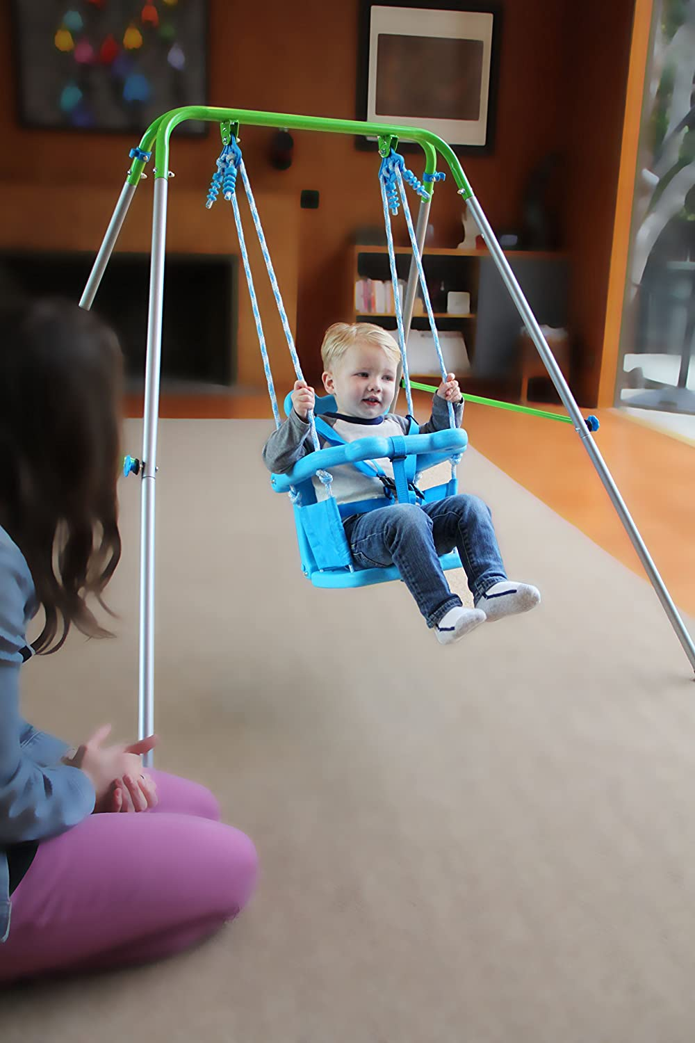 Amazon Sportspower My First Toddler Swing Toys Games