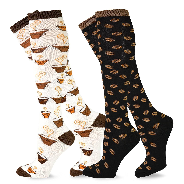 8aa031efe well-wreapped TeeHee Women's Foods Knee High Socks 2-Pack - sms.md
