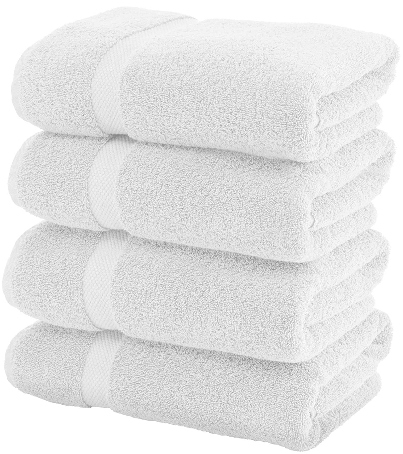 Luxury White Bath Towels by White Classic