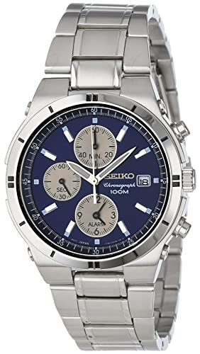 Seiko Watches SNA695 - Reloj de pulsera hombre, acero inoxidable, color Plata: Amazon.es: Relojes