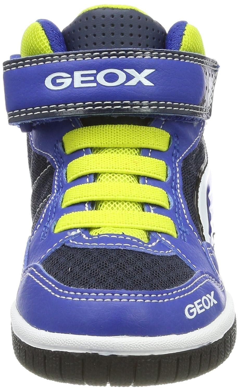 Geox Boys/' Jr Gregg a Hi-Top Trainers