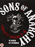 Sons of Anarchy - Season 1-4 [DVD]