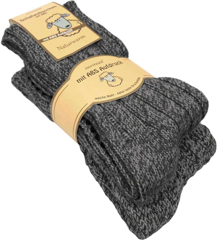 2 Paar normani® Norwegersocken aus Schafwolle