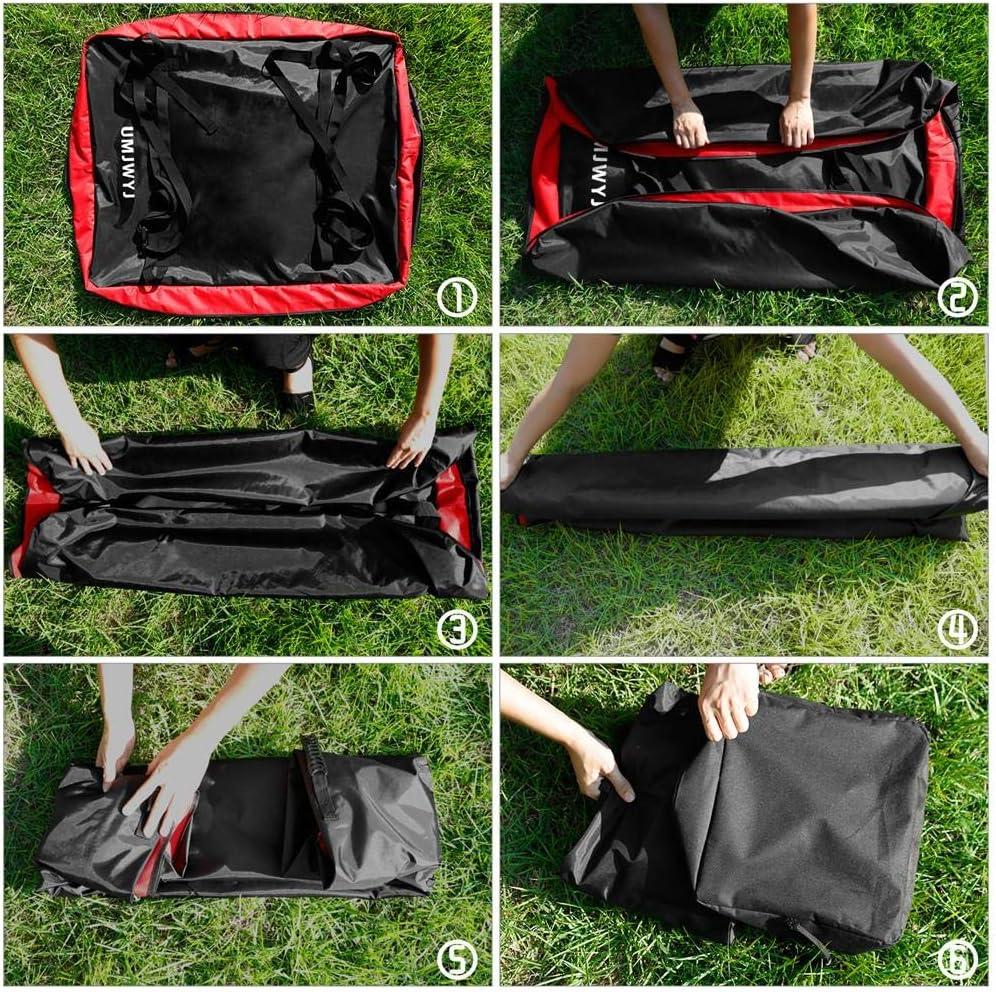Sac de toit sac de toit de voiture Porte-bagages Porte-bagages de toit /étanche /à la poussi/ère avec 2 sangles renforc/ées pour les v/éhicules tout-terrain Sac de toit