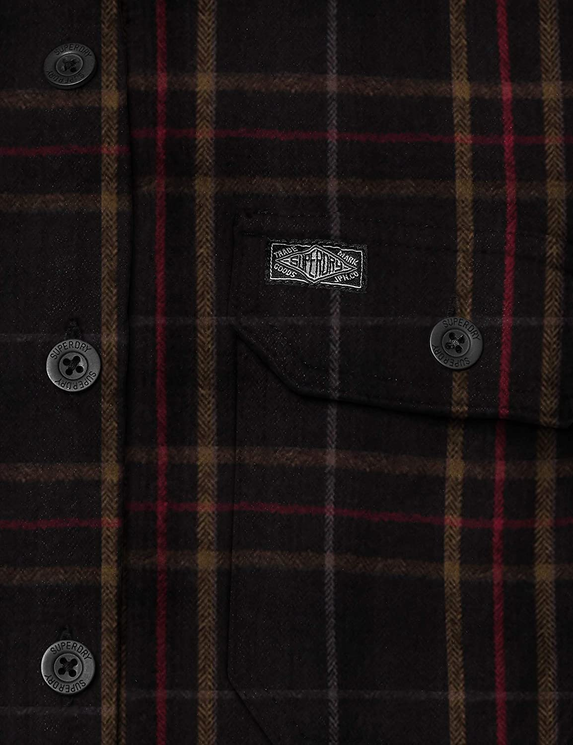 Superdry Merchant Milled L//s Shirt Camicia Uomo