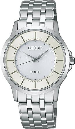 Amazon | [セイコーウォッチ] 腕時計 ドルチェ スーパークリアコーティング ソーラー電波時計 SADT007 シルバー | セール | 腕時計 通販