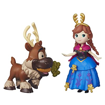 Disney Frozen Little Kingdom Anna & Sven: Toys & Games