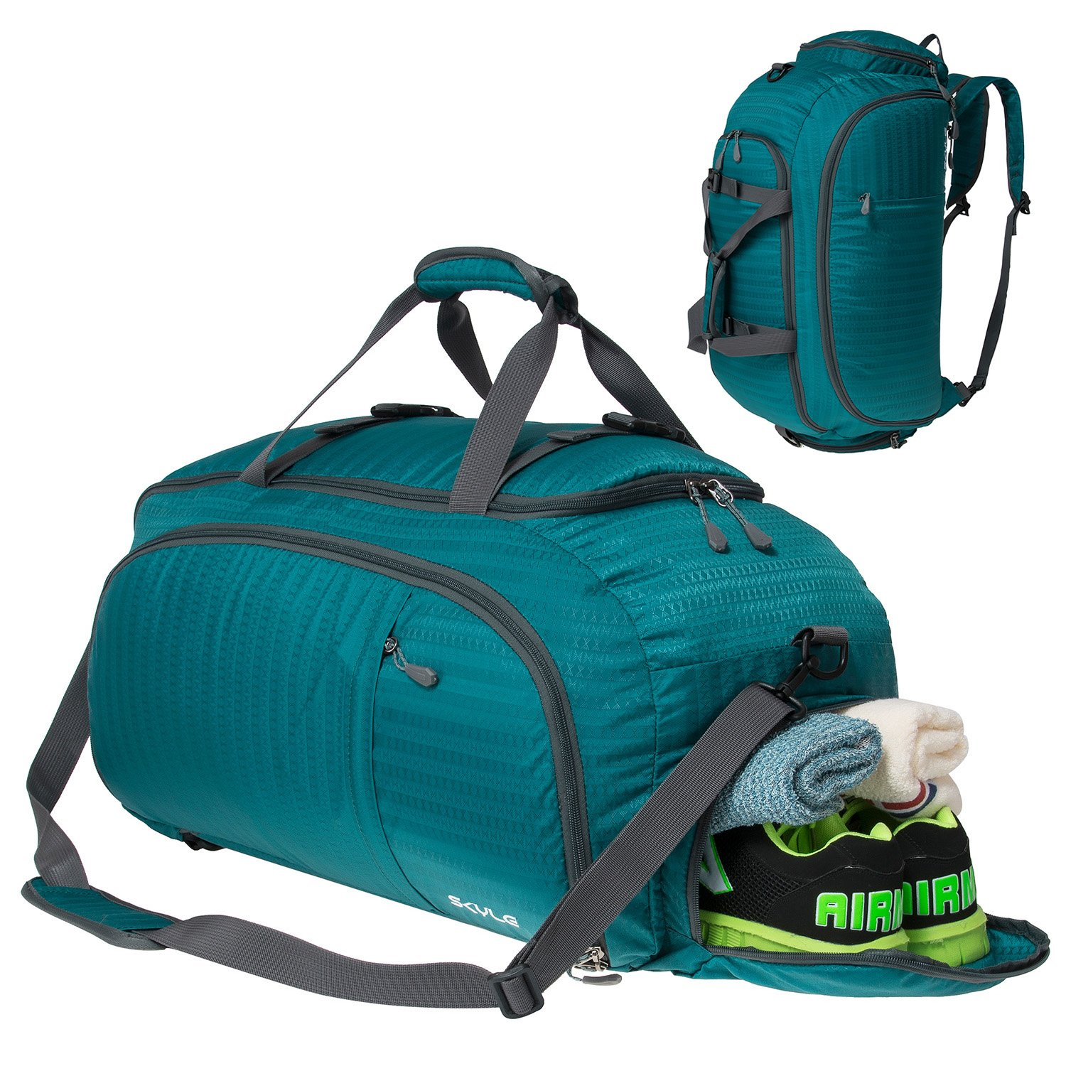 Sports Backpacks With Shoe Compartment- Fenix Toulouse Handball f71d40898c64b
