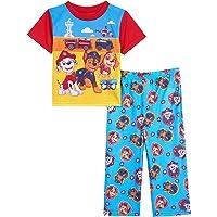 Nickelodeon Paw Patrol - Pijama de 2 Piezas Juego de Pijama para Niños