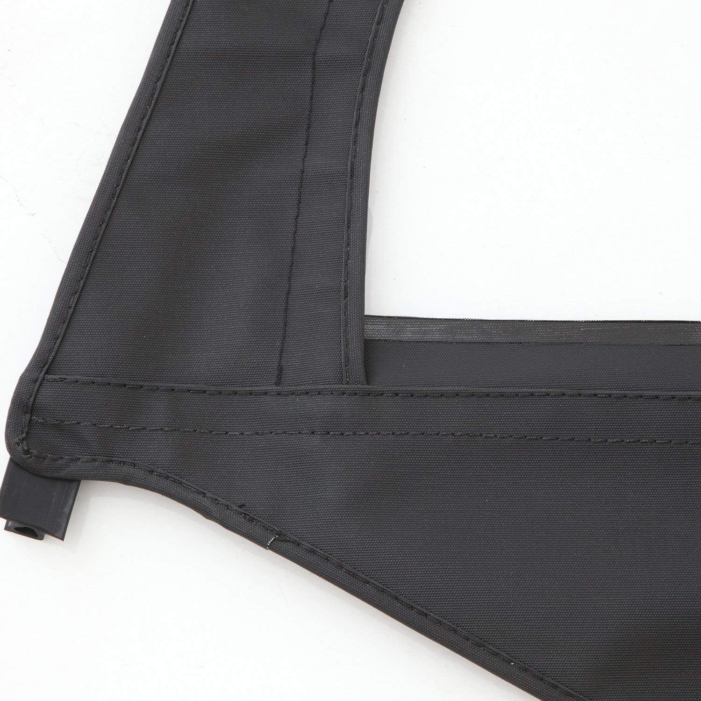 Smittybilt 79535 Soft Top-Door Skin W//Frame-Passenger Side For 97-06 TJ Wrangler