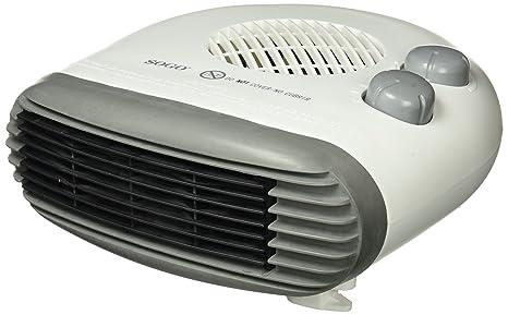 Sogo CAL-SS-18315 Calefactor termoventilador Turbo, 2000 W, Otro, Blanco