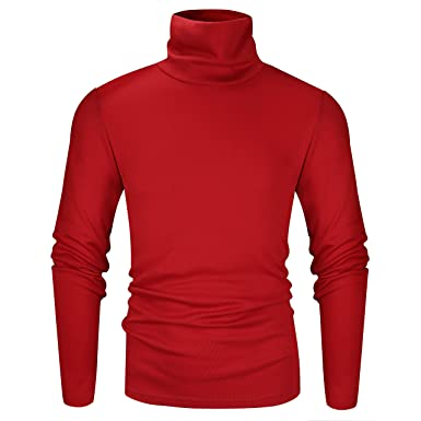 red turtleneck mens