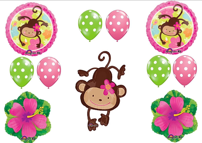 Monkey Girl Birthday Decorations | www.topsimages.com