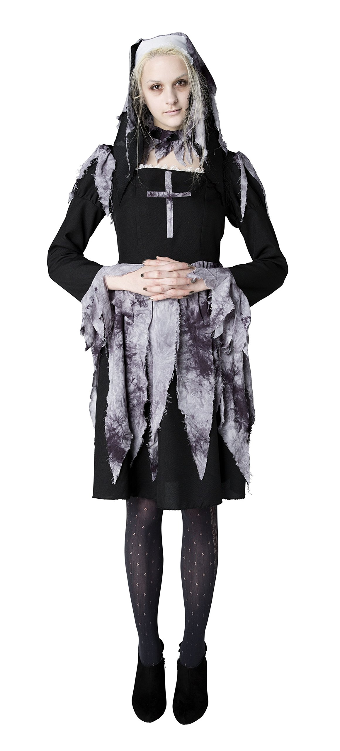 GHOST ghost sister nun costume ladies 155 cm-165 cm genuine stone