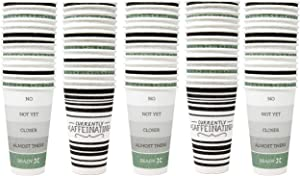 Dixie to-Go 20 Oz Disposable Hot or Cold Beverages Paper Cups, 75 Count