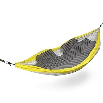 Klymit Saco de Dormir para Hamaca, Aislamiento térmico, Unisex, Unisex, Hammock V, Gris, L: Amazon.es: Deportes y aire libre