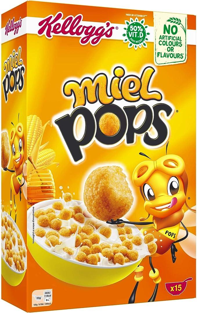 Kelloggs, Cereales Miel Pops 450 gr: Amazon.es: Alimentación y bebidas
