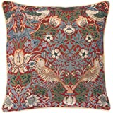 William Morris Strawberry Thief Crimson Ready Made