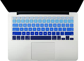 "for MacBook Pro 13/"" 15/"" Touch Bar Keyboard Cover blue"
