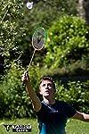 Joueur avec une raquette Talbot Torro