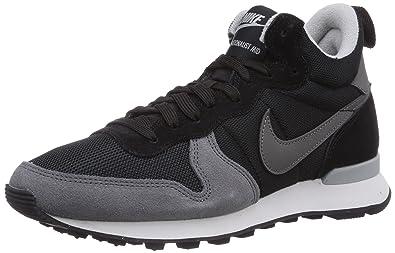 wholesale dealer 4f9ee 995ac Nike Internationalist Mid, Chaussons Sneaker Femme - Noir (BlackDark  Grey-Grey