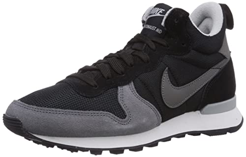 the best attitude 06b9c 033a9 Nike Internationalist Mid, Women Low-Top Sneakers, Black (Black Dark Grey