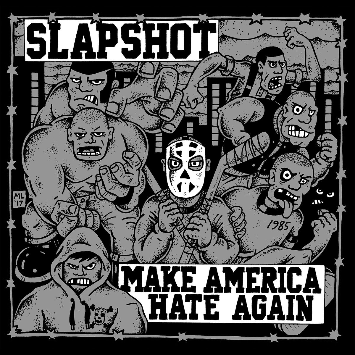 Vinilo : SLAPSHOT - Make America Hate Again (LP Vinyl)