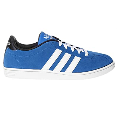 adidas NEO Vlneo Court Mens Trainer Shoe Blue: Amazon.co.uk