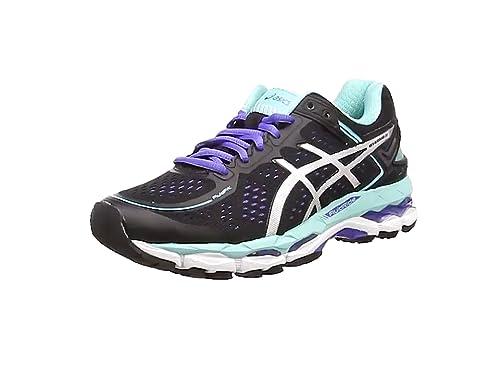 ASICS - Gel-Kayano 22, Zapatillas de Running Mujer, Negro (Black/