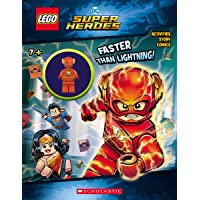 LEGO DC Super Heroes: Faster than Lightning!  Activity Book with Minifigure