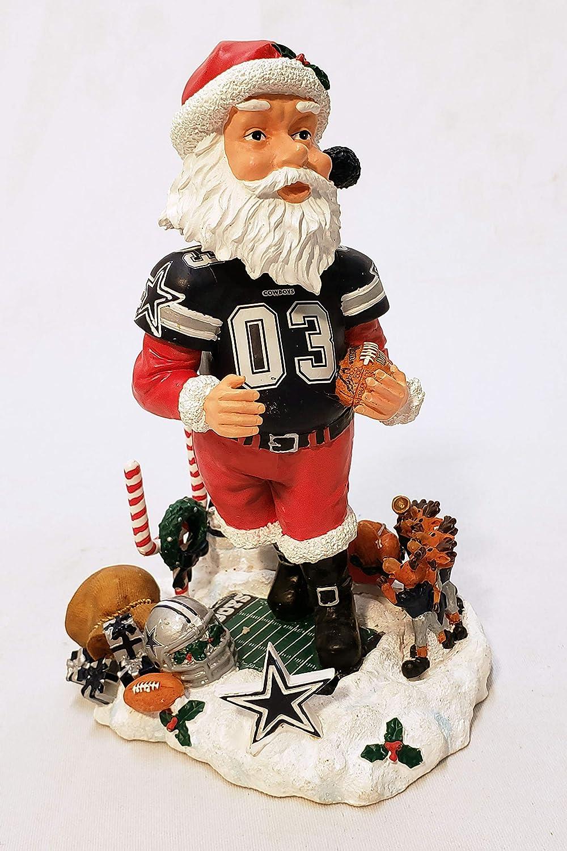 Dallas Cowboys Santa Claus Bobblehead