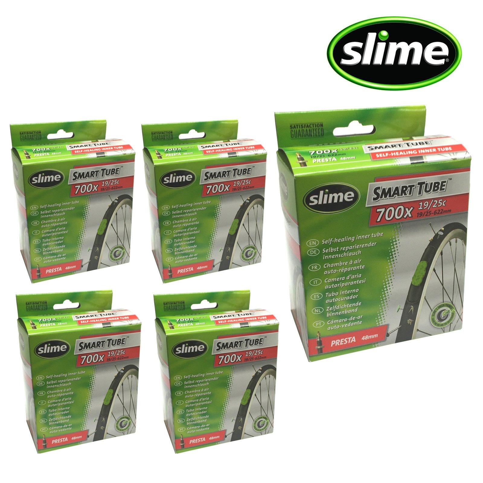 Slime Smart Tube Self Healing 700c x 19-25 Presta Inner Tubes by Slime