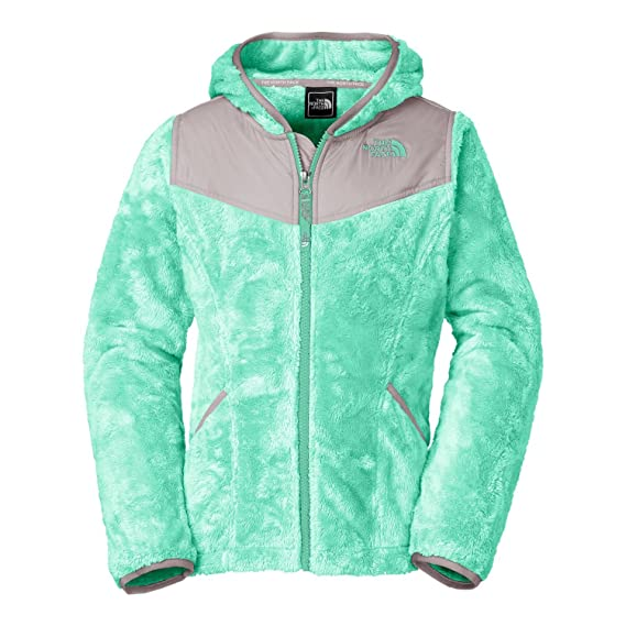 a3ca1cec2 THE NORTH FACE Youth Girl's Oso Hoodie Fleece Jacket (Small, Surf ...