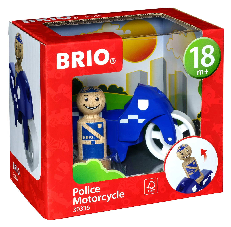 BRIO My Home Town 30336 Polizeimotorrad