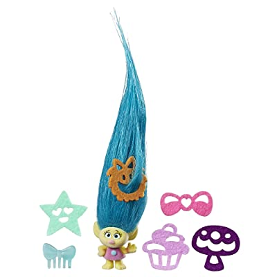 DREAMWORKS TROLLS Hair Raising Tiny Smidge: Toys & Games