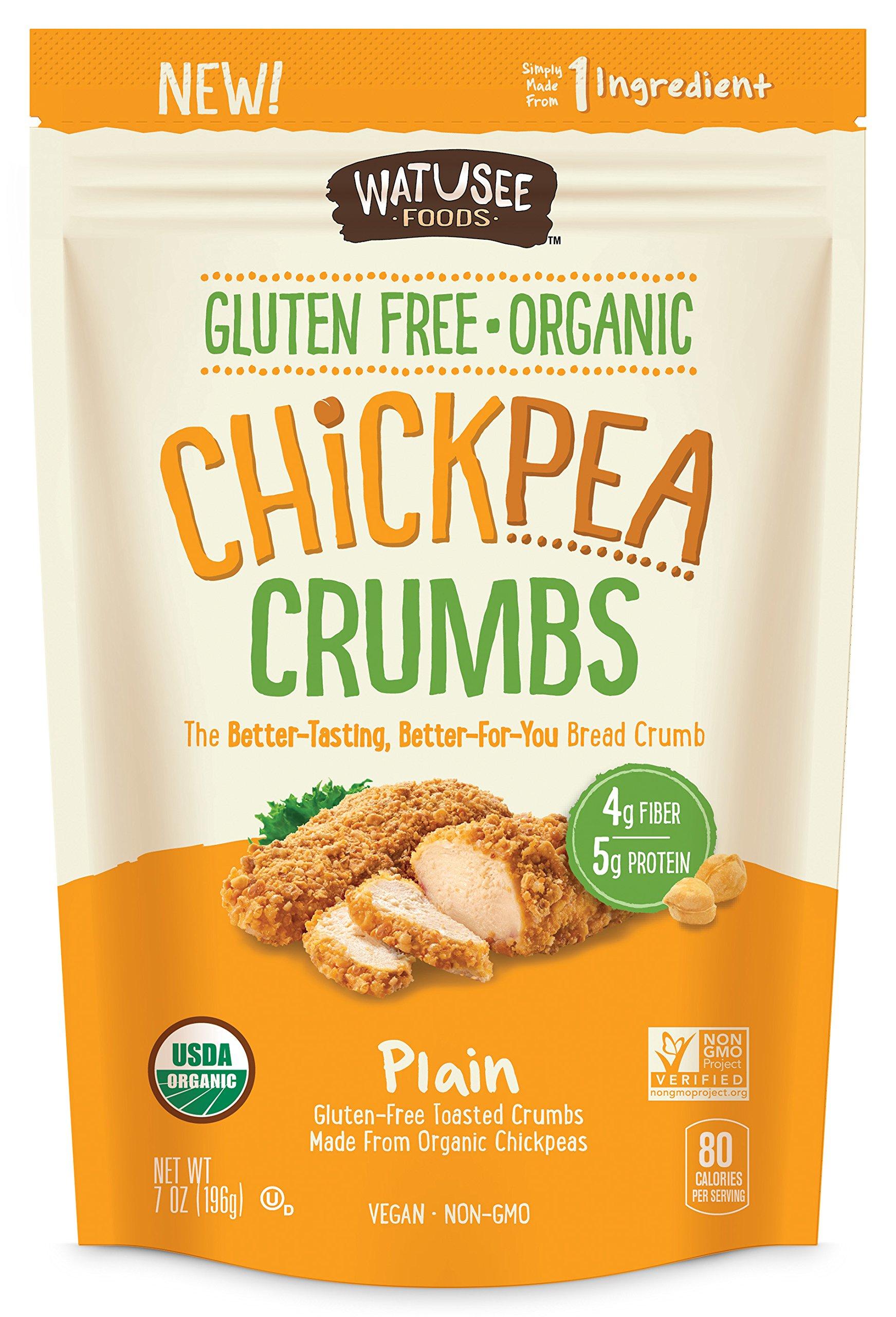 Watusee Foods Chickpea Breadcrumbs, 7 oz by Watusee Foods