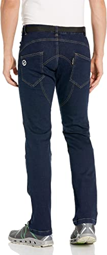 Charko Designs Pantalones Vaqueros de Escalada de Roca para Hombre