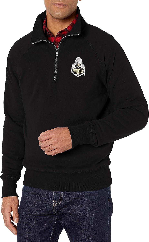 NCAA Mens OTS Fleece 1//4-Zip Pullover