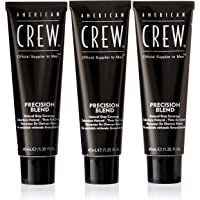 American Crew Precision Blend Hair Dyes for Men, #4-5 Medium Natural, 120ml