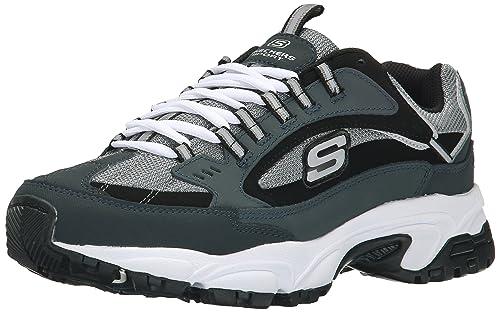 Skechers Sport aguante Nuovo con cordones de la zapatilla de deporte: Amazon.es: Zapatos y complementos